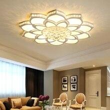 Kryształowe nowoczesne lampy sufitowe led do salonu sypialnia gabinet akrylowe stylowe lampy sufitowe Led darmowa wysyłka