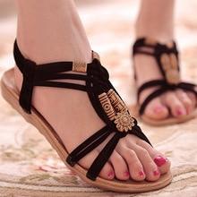 Женская обувь, сандалии, удобные сандалии, Летние вьетнамки 2018, модные сандалии высокого качества на плоской подошве, сандалии-гладиаторы, sandalias mujer