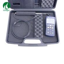 Высокоточный цифровой анемометр Поток воздуха тестер воздушный Ветер расходомер TES-1340