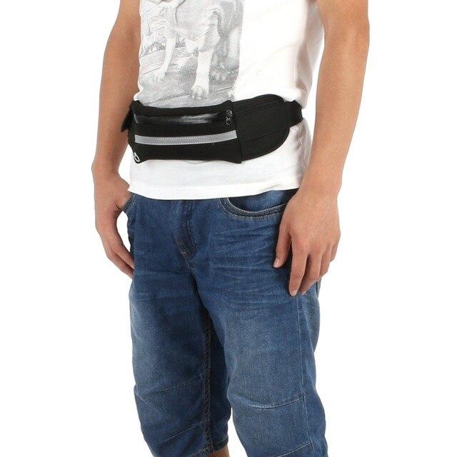 Outdoor Running Waist Bag Waterproof Mobile Phone Holder Jogging Belt Belly Bag Women Gym Fitness Bag Lady Sport Accessories 4