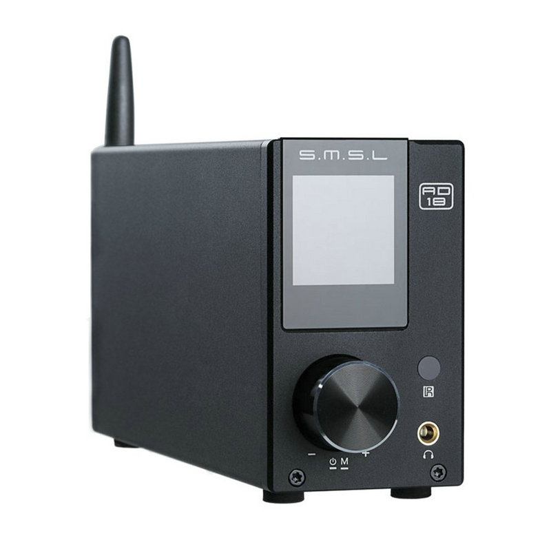 SMSL AD18 HIFI Audio-Stereo-Verstärker mit Bluetooth 4.2 - Heim-Audio und Video
