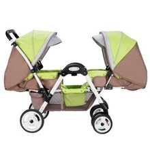 2016 New Style twin strollers to sit face to face double baby stroller lightweight stroller can sit or lie Stroller Accessories