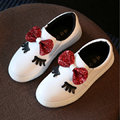 Girls Princess Shoes 2017 New Spring fashion children Bowknot Sneakers Lovely Hot Sell cool Kids Casual shoes size 26~36