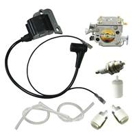 Ignition Coil With Carburetor For Husqvarna 50 51 55 254 257 261 262 XP 61 268
