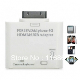 HDMI /USB Adapter For 4 4S touch4