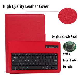 Image 2 - Keyboard Case for Samsung Galaxy Tab A 10.5 2018 SM T590 SM T595 T590 T595 Case Keyboard for Samsung Tab A 10.5 Cover + Keyboard