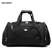 Big Capacity Single Shoulder Gym Bag With Shoes Compartment Portable Sports Fitness Bag For Men Women