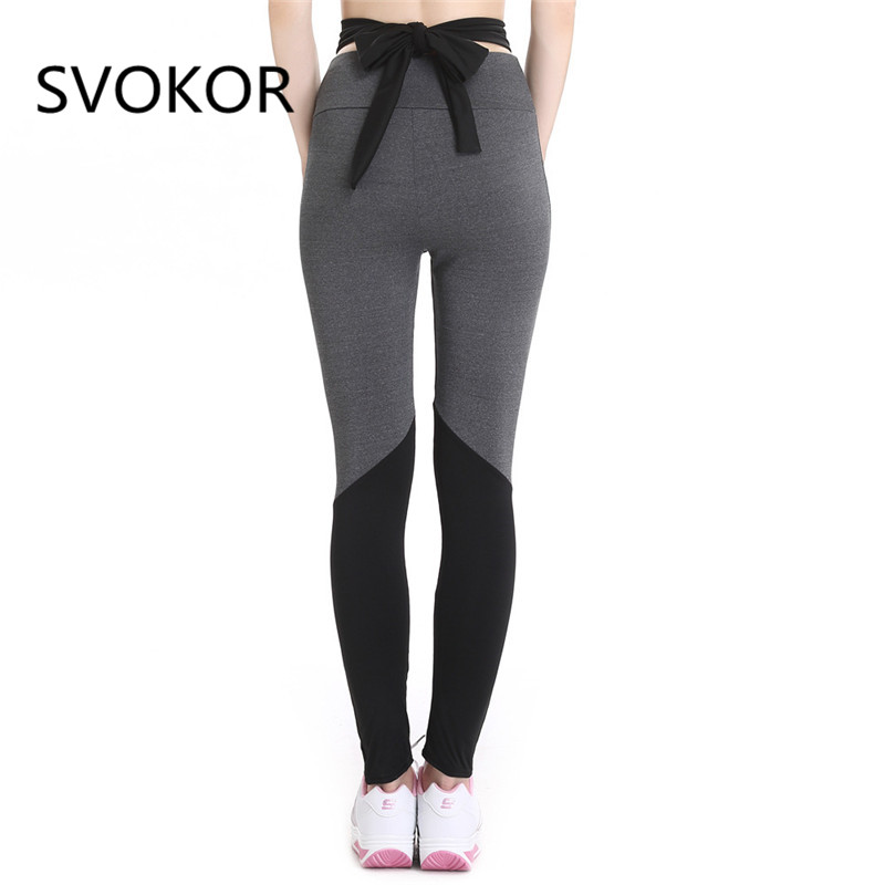 ae1c9dfe1039e Cheap Leggings, Buy Directly from China Suppliers:SVOKOR Women Leggings  Sexy Black Gray Knitted