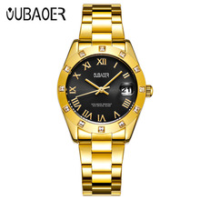 OUBAOER Brand Womens Quartz Watches Women Relogio Feminino Ladies Fashion Casual Watch Wrist Women Watch saat 2017 New