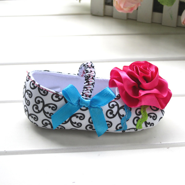 2018 Summer Autumn Baby Girls First Walkers Cute Flower Princess Shoes Toddler Shoes