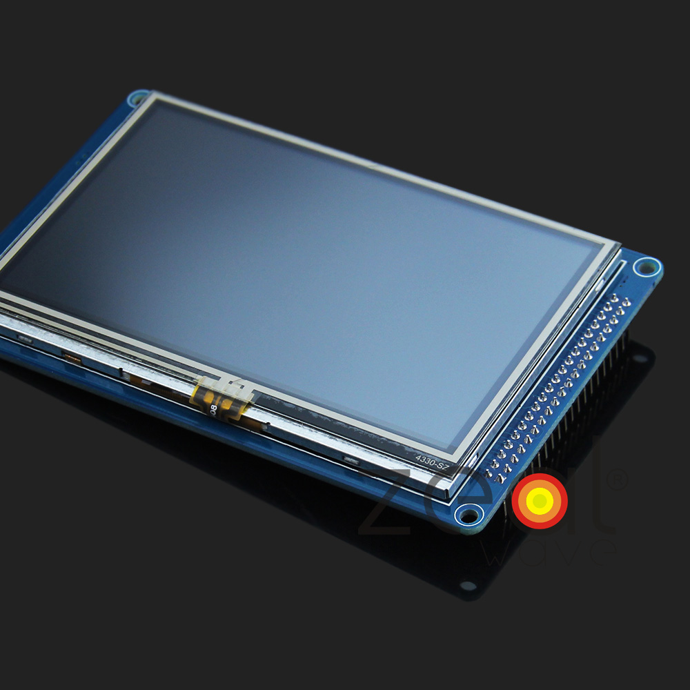4.3 Inch 480x272 TFT Screen LCD Panel PCB Board Driver IC SSD1963 SD Card 6870s 0535a 6870s 0534a lcd panel pcb part a pair