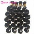 5 pieza brasileño onda del cuerpo bundles brasileños paquetes de pelo virgen grado 8a pelo grueso termina blackbeauty set para la cabeza completa productos