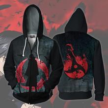 Naruto Uchiha Itachi Sharingan Hoodie Cosplay Anime Costumes Sweatshirts men women