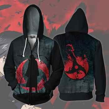 Naruto Uchiha Itachi Sharingan Hoodie Cosplay Naruto Anime Costumes Costumes Sweatshirts men women Hoodie - DISCOUNT ITEM  23% OFF All Category