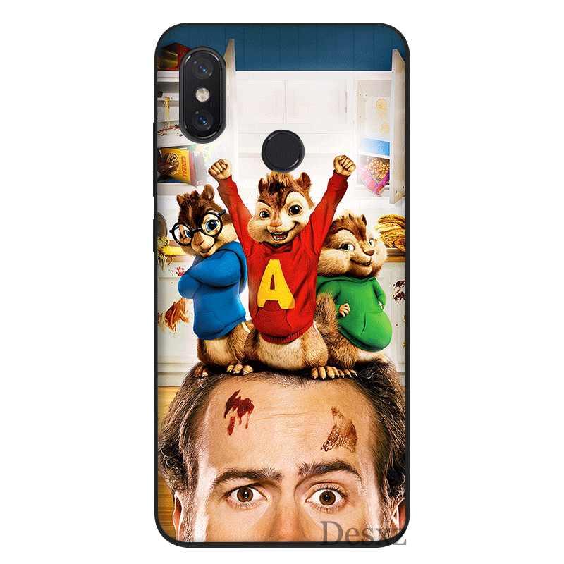 Desxz Tế Bào Ốp Lưng Điện thoại Xiaomi Redmi ĐI 7 4X 4A 5A 5 6 6A Pro S2 Plus Bộ Phim alvin And The Chipmunks Vỏ