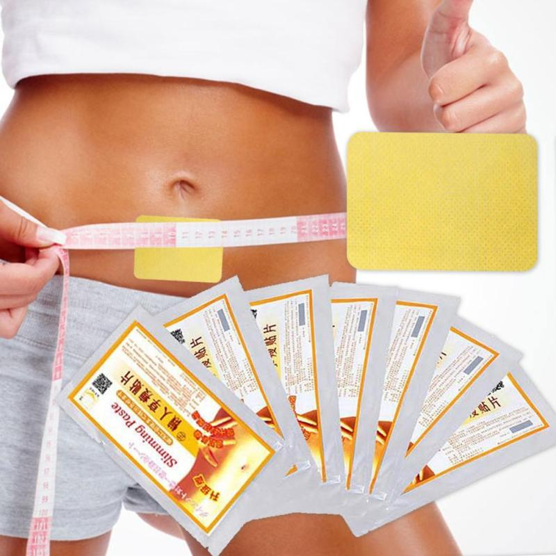 10pcs/bag Weight Loss Patch Navel Slim Lose Health Slimming Patch Diet Products Detox Adhesive Body plaster Burning Fat Paste C4