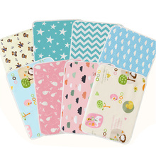 Пеленки для детей, пеленальный коврик, водонепроницаемый чехол для новорожденных, для мальчиков и девочек, Лист Мочи, коляска, кровать, многоразовая Портативная сумка для подгузников