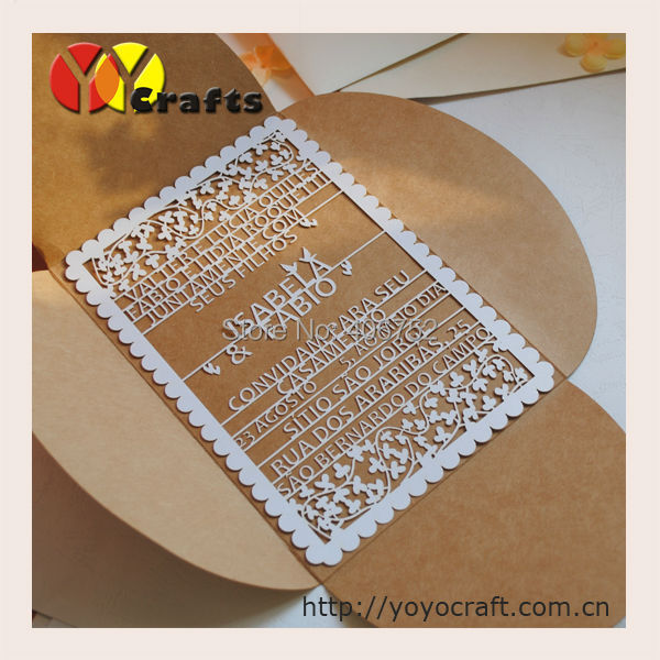 Aliexpresscom Buy Kraft paper unique folding fabric wedding