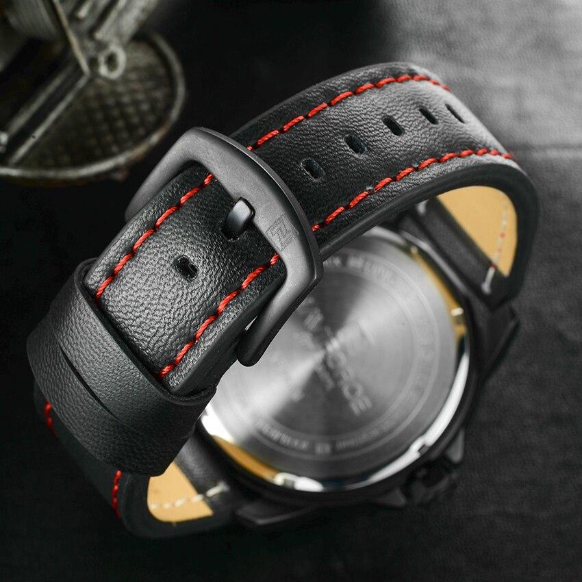 Luxury Brand NAVIFORCE Men Watch Quartz Date Military Sports Watches Men's Clock Casual Leather Wrist Watch relogio masculino 4