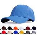 Elegante pure color papá sombreros gorra de béisbol del snapback sombreros para hombres mujeres, elegante snap back strapback sombrero de golf, masculino hueso chapeu
