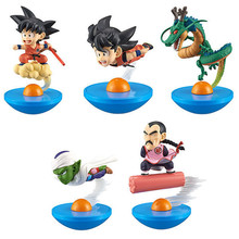 NEW hot 8-10cm 5pcs/set Dragon Ball Frieza battle of gods Saiyan Son Goku Piccolo Vegeta action figure toys collection toy doll