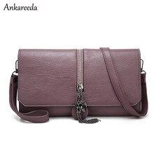 Ankareeda Mode Frauen Kupplungen Bag Luxus Leder Tag Kupplung Schultertasche Hohe Qualität frauen Messenger Bags Handtaschen