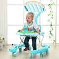 Baby stroller baby help walker anti - rollover multi - function music pedal car