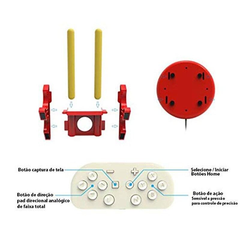 Contrôleur de tambour match pour Nintendo Switch jeu vidéo tambour maître contrôleur Set Console accessoires de jeu bâton de tambour - 5