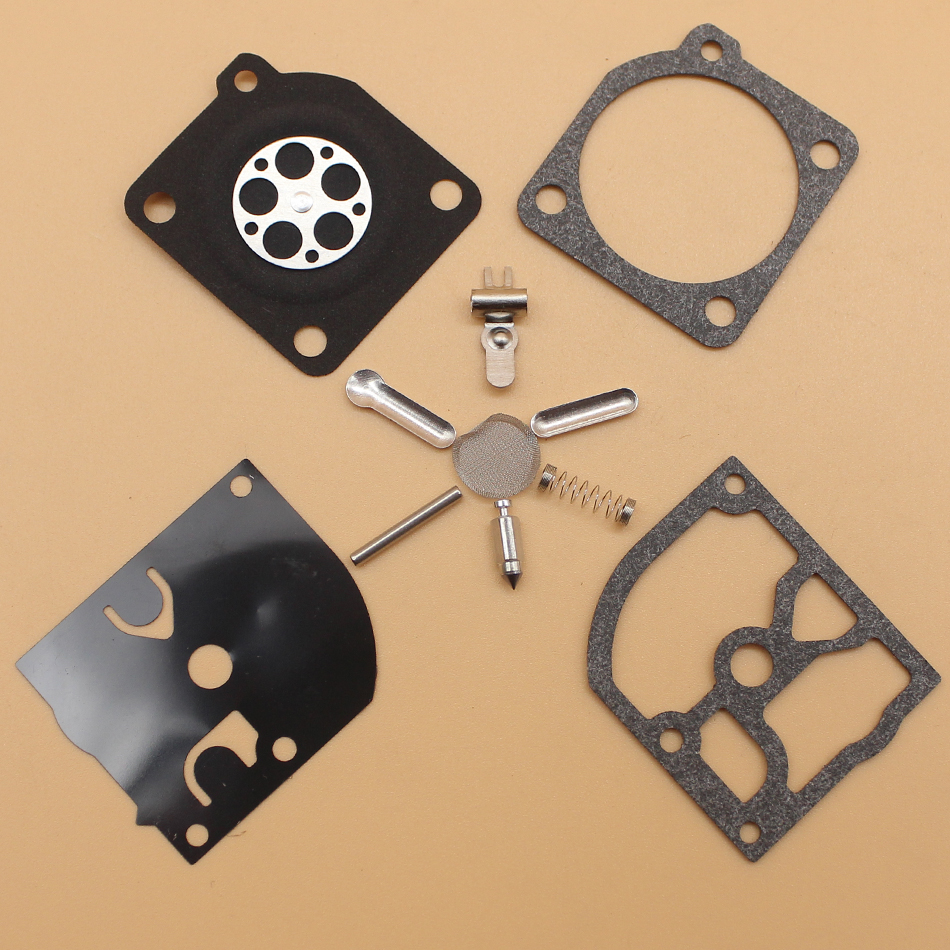 2Pcs/lot Carburetor Carb Repair Gasket Kit For Hu 136 137 141 142 St 025 FS200 FS250 FS350 Chainsaw RB-137 RB-38 C1Q