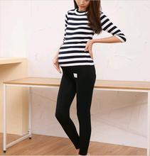2016 New Autumn Gravida Maternity Clothing Pregnant Leggings Care Belly Model Clothes Pants For Pregnant Women Adjustable waist
