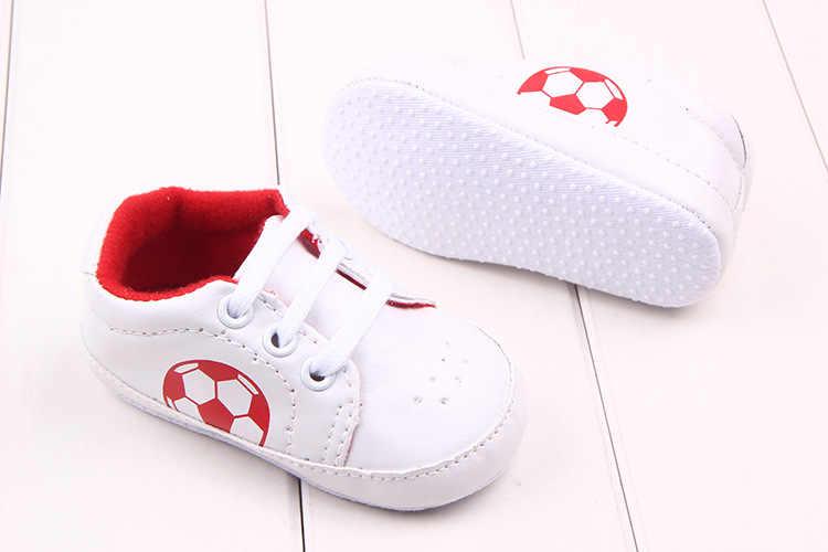 2678003c7462 ... Anti-slip Soft Sole Football Sport Sneakers 3-18M Soccer Baby Boy Girls  Crib ...