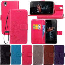 DEEVOLPO Leather Case For Lenovo K6 Note A1010 K10 P2 S1-Lite A7000 K3Note K6Note A 1010 Lucky Clovers Wallet Cover DP61