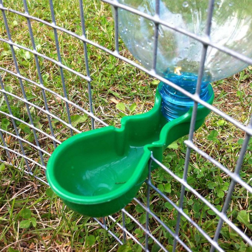 Buy pop water bottle fountain drinker for Abreuvoir poule maison