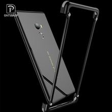 OATSBASF Luxury Airbag Metal Case For Xiaomi MI Mix 2 Personality Bumper Cover Slim 2S