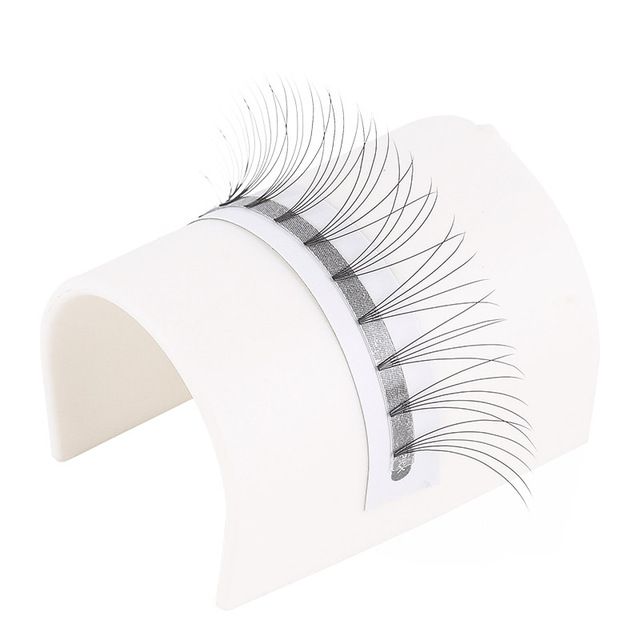 Love Darling  eyelash extensions heat bonded short stem Pre Made Volume fans  Russian Volume Eyelash Extension Supplies 3