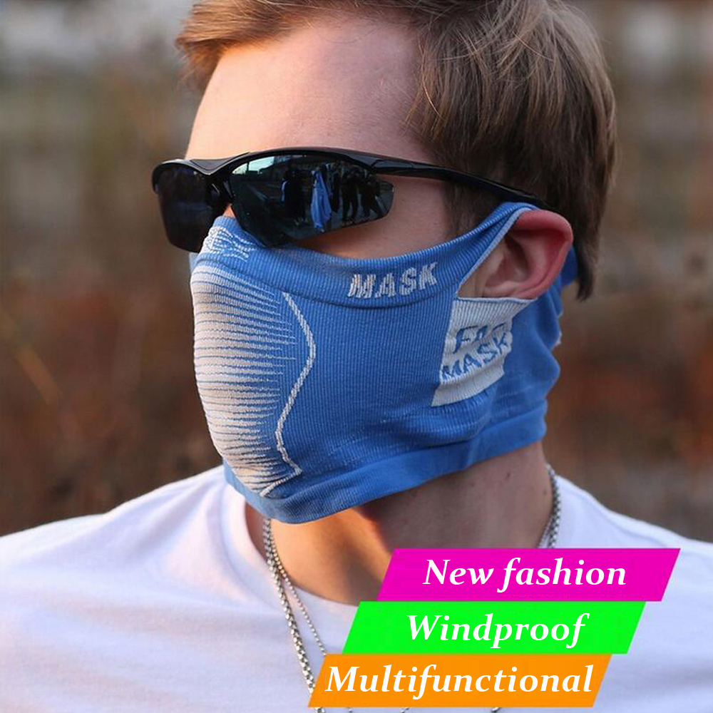Cycling Face Mask Breathable Uv protection Windproof Mask Sports Bike Bicycle Warmer Scarf Hood Mask