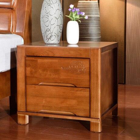 mesitas de noche de madera maciza muebles de dormitorio muebles para el hogar mesas de noche