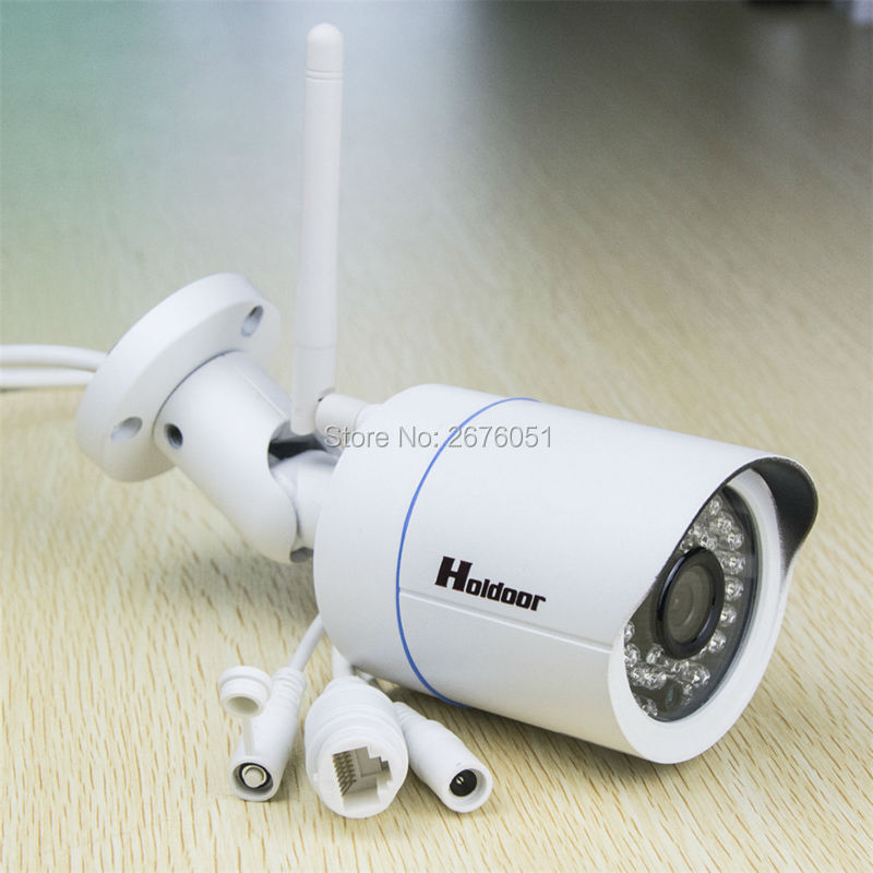 1280 x 720P 1.0MP Waterproof IP66 Bullet wifi IP Camera Outdoor CCTV Camera ONVIF Night Vision P2P IP Security Cam with IR-Cut outdoor 720p ip camera hd wireless wifi array ir night vision bullet onvif waterproof cctv security ip 1mp network web camera