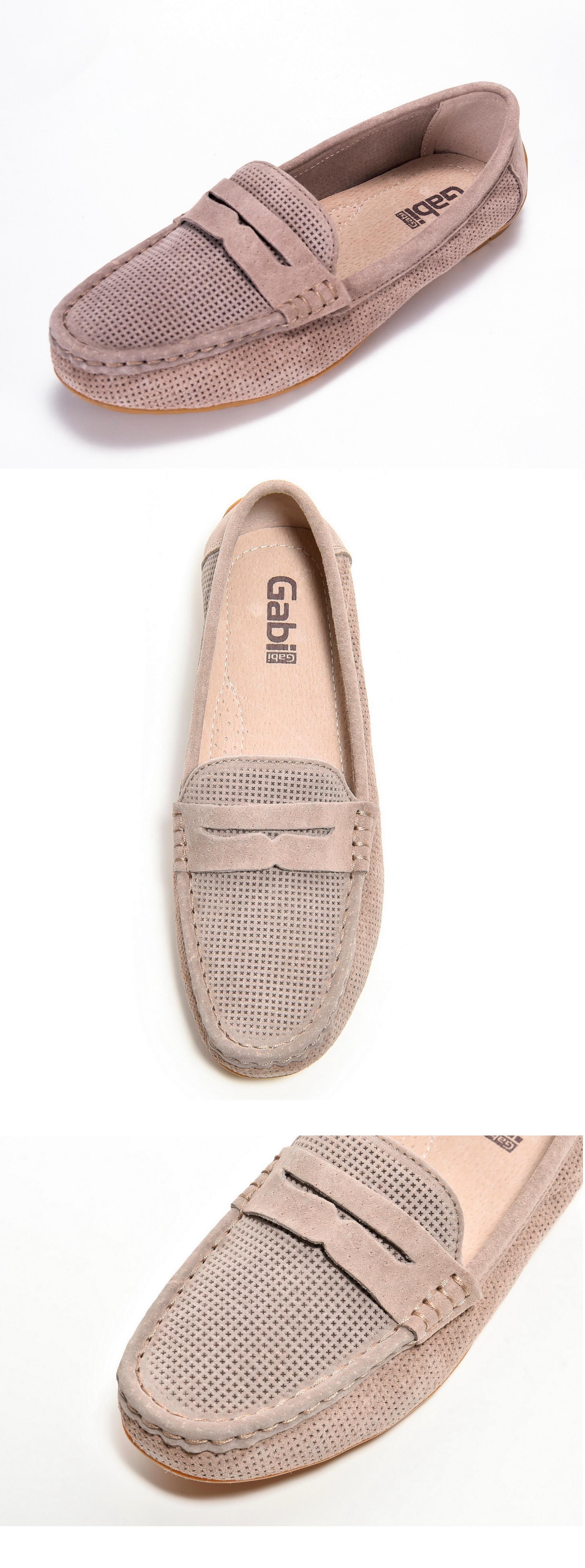 Sapatos femininos verão, mocassins azul; couro natural,
