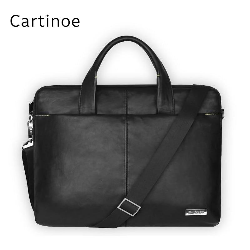 Hot Leather Brand Messenger Bag, Handbag For 15,15.6 inch Laptop,Bag For Macbook Pro 15.4, Notebook 15, Drop Free Shipping. 2017 newest handbag sleeve case for macbook laptop air pro 11 6 13 315 4 notebook bag 14 15 15 6 inch free drop shipping