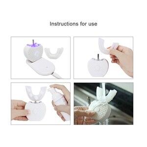 Image 5 - Зубная щетка электрическая Беспроводная для взрослых, 360 градусов, автоматическая