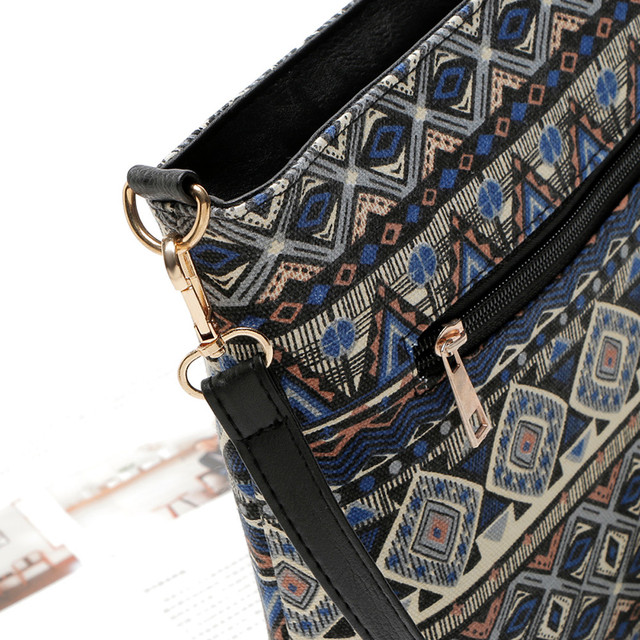 Ethnic Canvas Sling Bag Women Chinese Style Shoulder Bag Female Casual National Bag Bohemian Printing Crossbody Bags 3