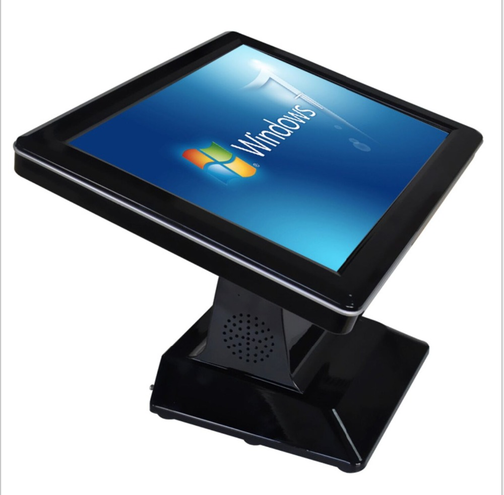 15 Inch All In One Touch Screen Pos With 5-wire Resistance Touch Screen