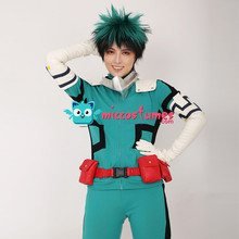 Mein Hero Wissenschaft Midoriya Izuku Deku Cosplay Kostüm Kampf Anzug