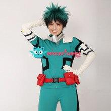 Mijn Hero Academia Midoriya Izuku Deku Cosplay Kostuum Vechten Pak