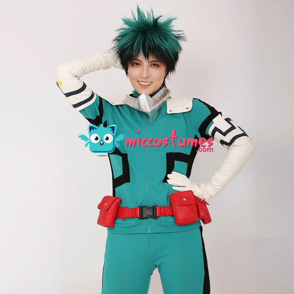 Mon héros académique Midoriya Izuku Deku Costume de Cosplay Costume de combat