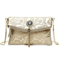 Женский кошелек модный женский s дизайн цепочка деталь сумка через плечо женская сумка через плечо клатч bolsa franja Роскошная вечерняя сумочка