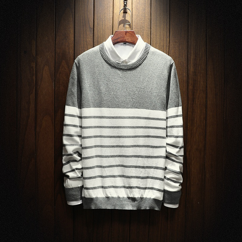 Sweater Men Winter 2017 New Autumn Brand Clothing Fashion Trend O-Neck Slim Fit Pullover Men Cotton Knitted casual Sweater Men