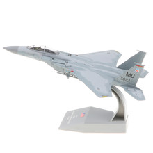 1:100 escala EE. UU. F-15 Bomber Air craft Diecast vehículo modelo colección juguete exhibidor modelo Kit Decoración(China)