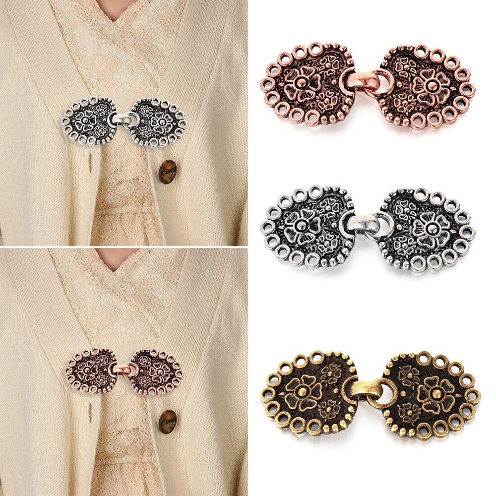 Nuevo Invierno Sweater blusa Pin Cardigan clip Chal broche Clip broches pato